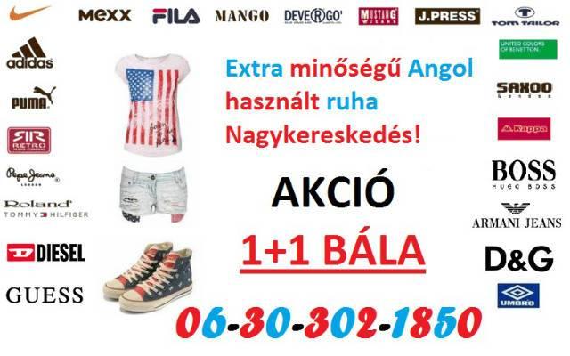 Minőségi angol használt ruha 1+1 Akció! - Szolnok - Ruházat 5239d7e9dc