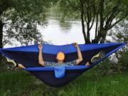 ÚJ Rimba- Bali Trekking FÜGGŐÁGY eladó  v.kék-s.kék 320-200 cm