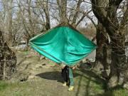 Új extra könnyű trekking FÜGGŐÁGY eladó 320x 200 cm