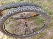MTB kerékpár + duplafalú kerékszett