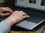 Angol nyelvórák skype-on