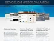 Webprogramozást, webszerkesztést vállalok!