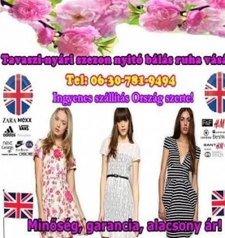 665187e1e4 Tavaszi nyári angol használt ruha eladó - Budaörs - Ruházat, Ruha