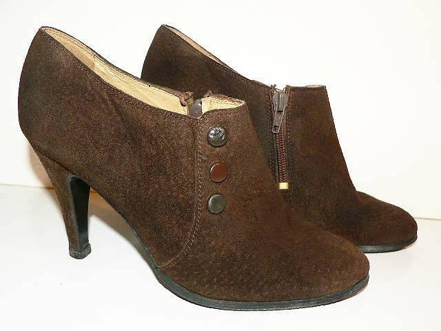 887a6fd1b6e7 Gallorini olasz alkalmi barna velúr bőr cipő 38 - Budapest I ...
