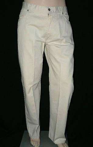 CERRUTI JEANS 100% pamut férfi vászon nadrág L34 W 40