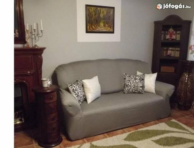 Levehető rugalmas kanapé huzat, bútorhuzat, védőhuzat