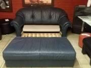 Ágyazható marha bőr kanapé fotó