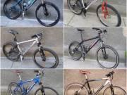 Acél és alu vázas kerékpárok! MTB xc maraton,OUI,TRK bringák!