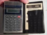 EL-838 Számológép kb.1982 (működik de hibás !!) kijelző nem jelenít meg minden karaktert !!
