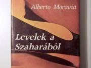 Levelek a Szaharából (Alberto Moravia) 1986 (3kép+tartalom) Útileírás (Európa Könyvkiadó)