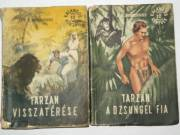 Edgar Rice Burroughs Tarzan a dzsungel fia / könyv 1956