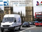 Csomagszállítás Magyarország-London
