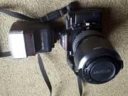minolta maxxum 5000 fényképezőgép af 100-200 , starblitz vakuval