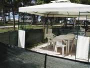 Horvátország tengerpart nyaralás lakókocsiban a tengertől 25 méterre!