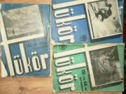 Tükör 1935 III évfolyam 3db Franklin Társulat kiadása / könyv