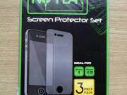 iPhone 4 3db/csom. védőfólia NO FEAR márka