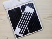 Új iPhone 5/5G karbon matrica, elöl+hátul+oldalt