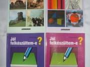 Új állapotú gyakorlókönyvvek, feladatgyűjtemények