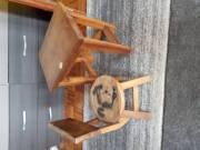 Gyermek szék, asztal