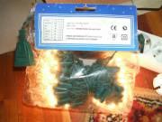 Kültéri égősor 100.-db-s fehér fényű, hosszabbítható