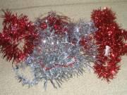 Karácsonyi díszítő, boa