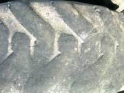 12, 5/80-18 340/80-18 rakodógép gumi fotó