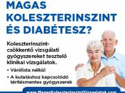 Magas koleszterinszint és stroke? – A kutatáshoz kapcsolódó térítésmentes gyógyszerek