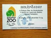 Zoo Budapest családi belépőjegy