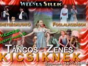 Zenés – Táncos TEHETSÉGKUTATÓ Foglalkozások KICSIKNEK!!