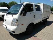 KIA K2500-as, hatszemélyes platós kisteherautó eladó! fotó