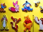 Micimackó és barátai fali dekoráció, 9 db