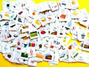 Még Aktuális! Angol-Magyar szókártya szótanuló kártya babáknak, gyerekeknek felnőtteknek egyaránt