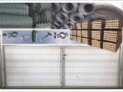 Vadháló Drótfonat drótkerítés betonoszlop kerítés építés huzal kerítésdrót