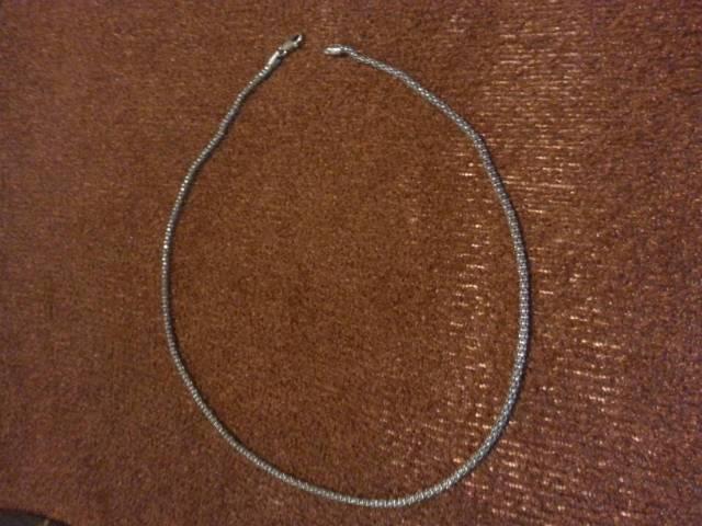 08186ad89 Eladó a képen látható ezüst női nyaklánc - Tiszakerecseny - Ékszer, Óra