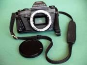 Jól működő, megkímélt kisfilmes,tükörreflexes PENTAX superA fényképezőgépváz eladó.