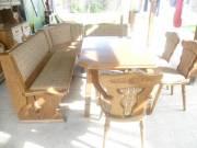 Konyhai sarokülő asztallal székekkel sarokpolccal eladó! fotó