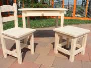 Gyerekasztal gyerekszék gyerek egy szék egy hokedli Óvodás méret fiókos asztal