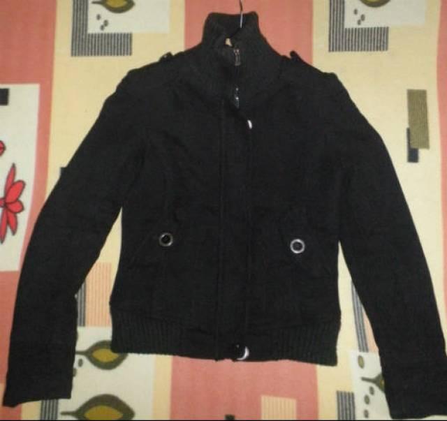 9ec78e3d3c Női bélelt szövet téli kabát M-es - Szolnok - Ruházat, Ruha