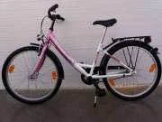 """24"""" Pegasus Kislány Kerékpár Bicikli Új állapotban Agydinamós Olcsón"""