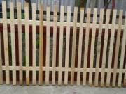 Eladó új készítésű masszív kerítés elemek.