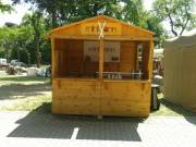 Szétszedhető Árusító faház Kis szállítási hely Budapest