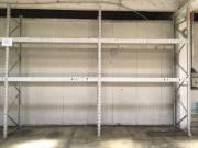 Raktári raklapos állvány 54 méter 3 raklapos gerendákkal,3,2 tonna teherbírású  eladó