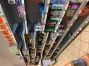 Üzletberendezés hűtő , üvegajtós mirelit polc rendszer kassza eladó