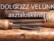A Szána Bútor Kft ASZTALOS állást hirdet Budapesten!