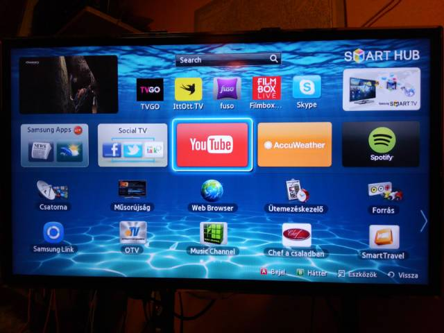 SAMSUNG UE32ES5500 FULL HD SMART LED TV - Budapest XI. kerület ... be906a9937