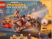 Bontatlan, új LEGO Minions 75549 - Megállíthatatlan motoros üldözés, exkluzív Gru minifigurával