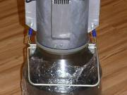 Elektromos vajkészítő gép. Vajköpülő