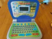 EDU GEAR Játék laptop (használt, működő állapotú)