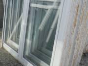 Bontott műanyag ablak 2 szárnyas Bukó-nyíló + nyíló kivitel fotó