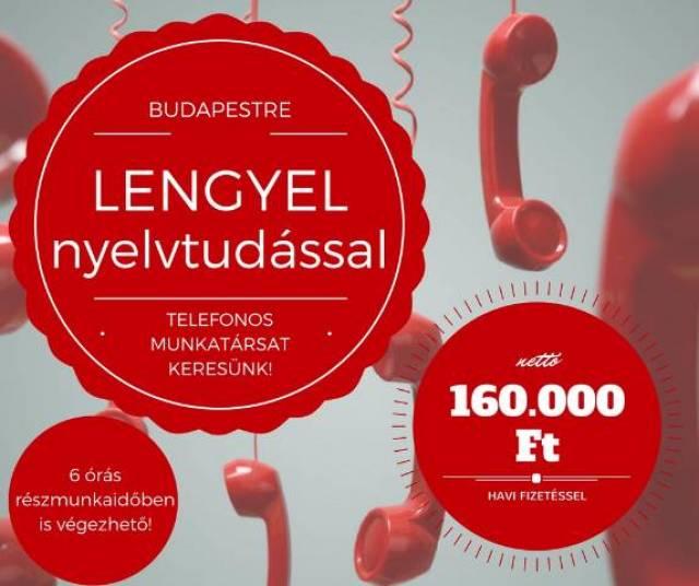 cb7c2efb2 Lengyel nyelvű telefonos ügyféPartnercégünk megbízásából keresünk ...